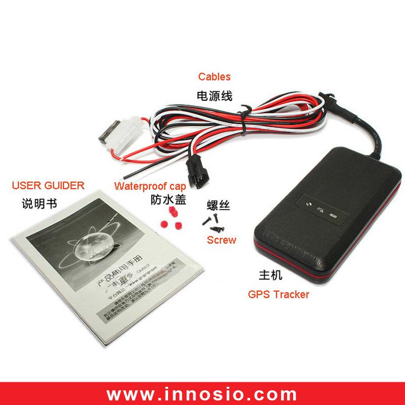 Waterproof GSM/GPRS Car Vehicle Tracking GPS