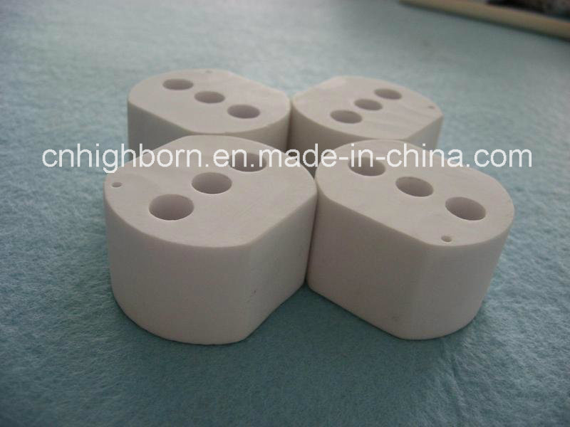 95% Alumina Ceramics Plug with RoHS Certification
