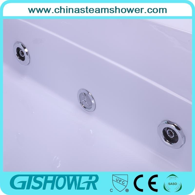 Modern Luxury Freestanding Whirlpool Massage Bathtub (KF-614)