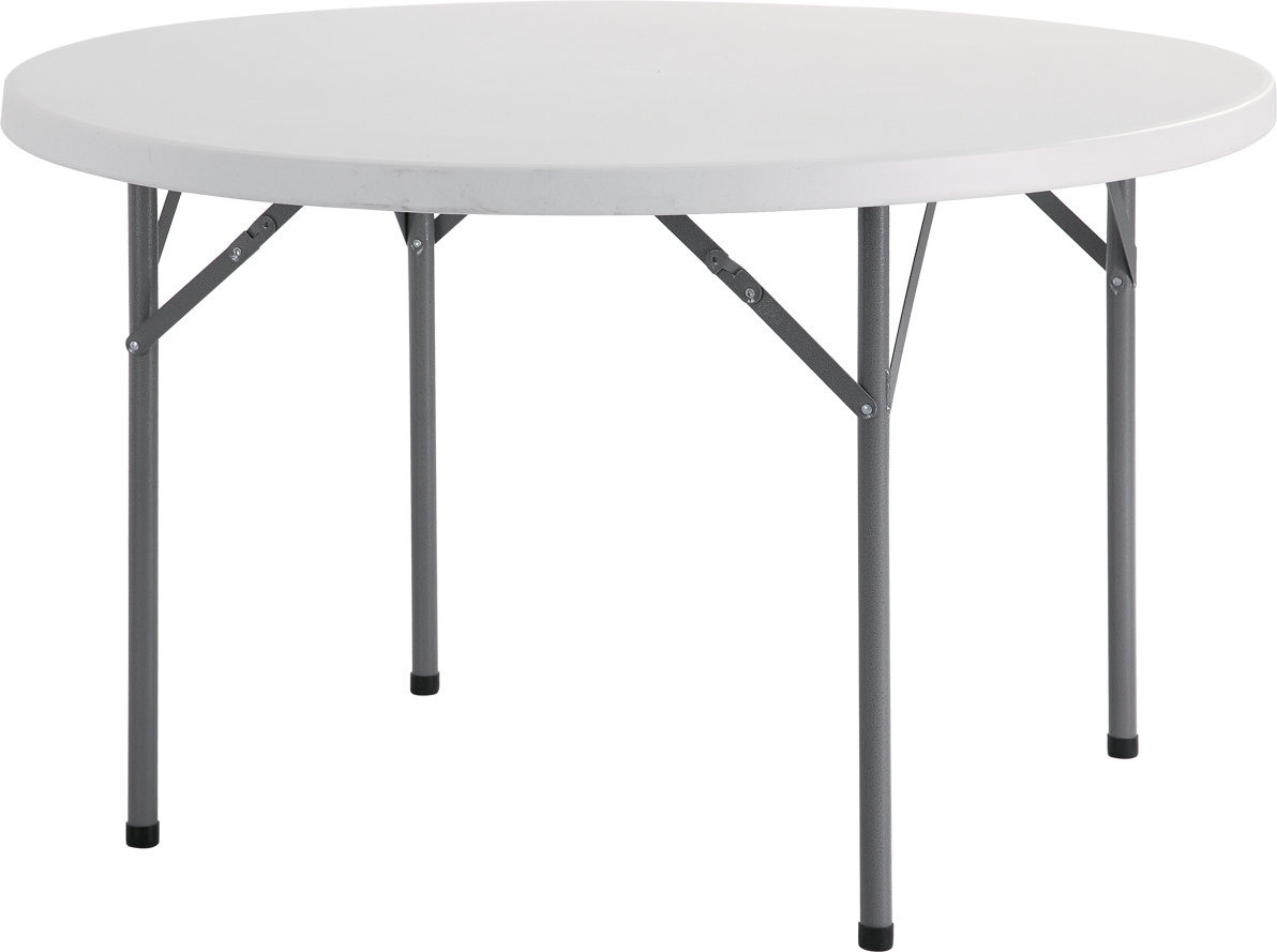 4FT Plastic Round Dining Table (YCZ-115R)