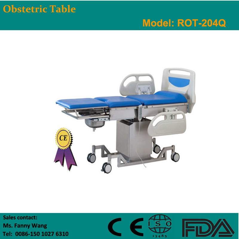 2015 Promotion! ! Electric Obstetric Table (ROT-204Q) -Fanny