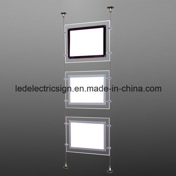 Real Estate Crystal Ceiling Light with Acrylic Sheet Acrylic LED Light Box