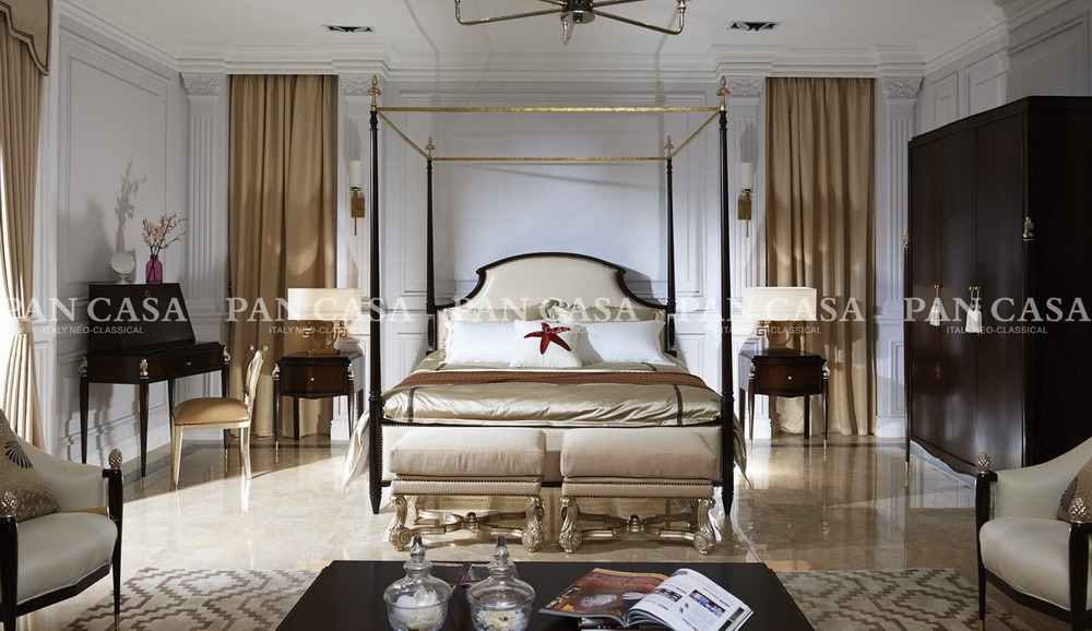 Classical Wooden Bedroom Furniture (MS-A6001e-2)