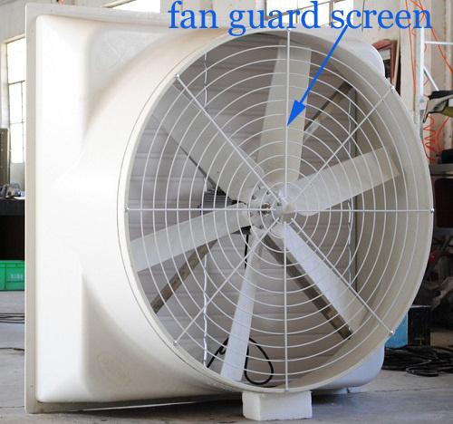 China Manufacturer Cooling Tower Fan Guard Screen/Metal Fan Guard Grilles