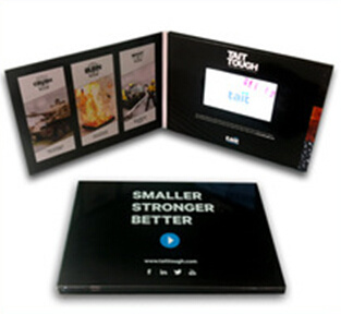 Hot Sale 5.0 Inch Video Business Card with LCD Screen