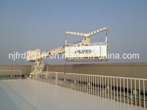 Working Height 350m Building Maintenance Units Bmu
