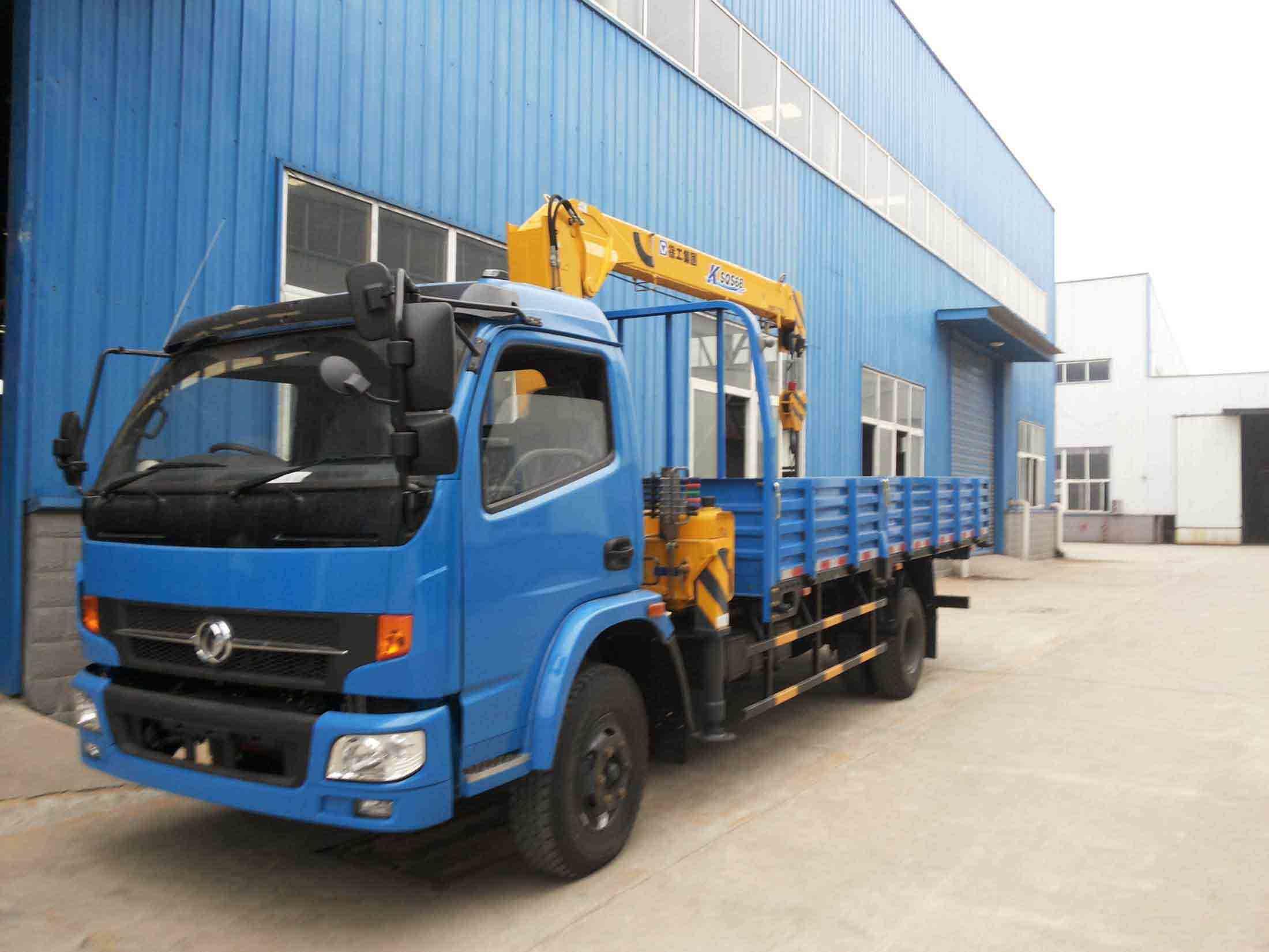 Dfac Crane Truck Captain C C92-991 Zz3167m4327A
