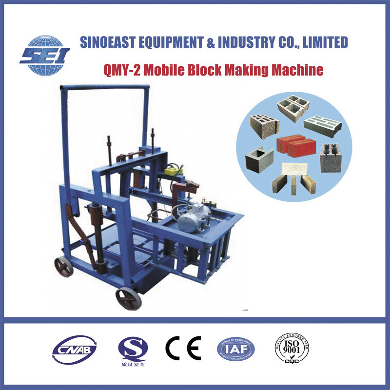 Qmy-2 Mobile Block Making Machine