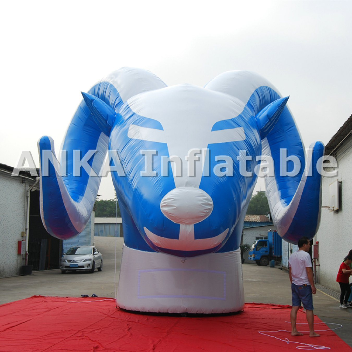 Commercial Inflatable Octopus Cartoon Character All Print