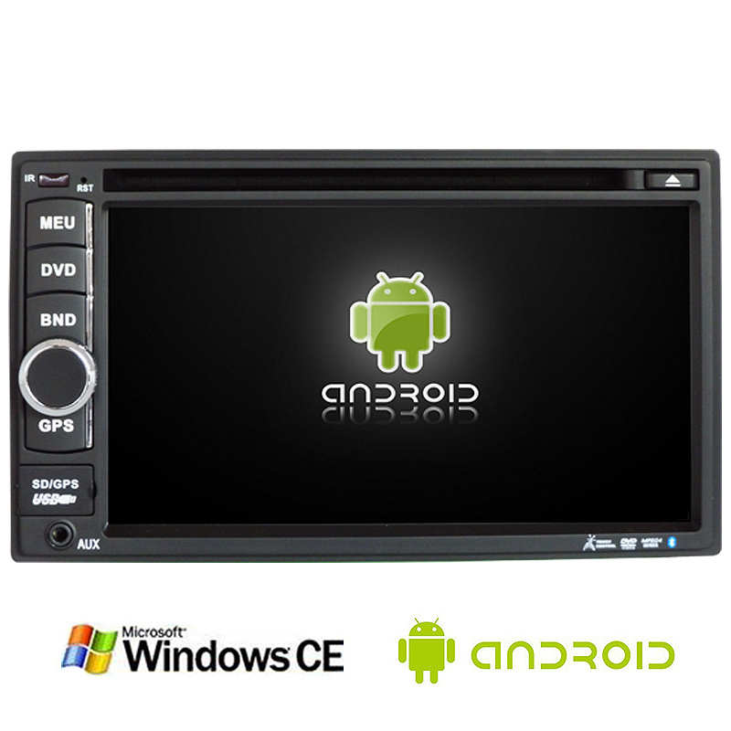 6.5inch Double DIN 2DIN Car DVD Player with Android System Ts-2501-1