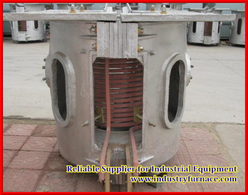 100 Kgs Capacity Electric Melting Furnace for Casting Different Scrap Alloy
