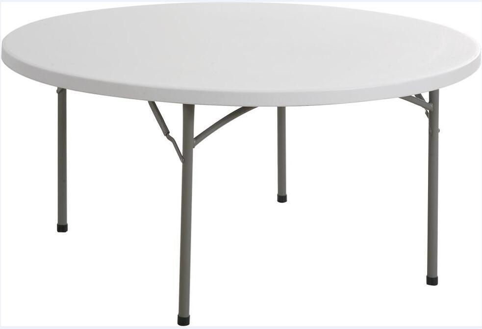 Modern Cheap Plastic Foldable Round Table (YCZ-160R)