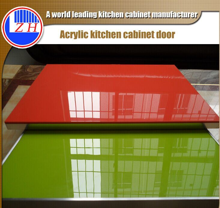 Luxury Acrylic Kitchen Cabinet Doors (customized)