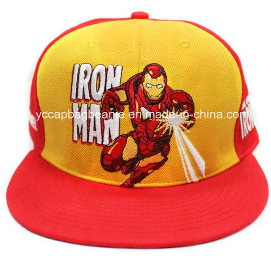 100%Acrylic New Flat Brim Era Snapback Hat Baseball Cap