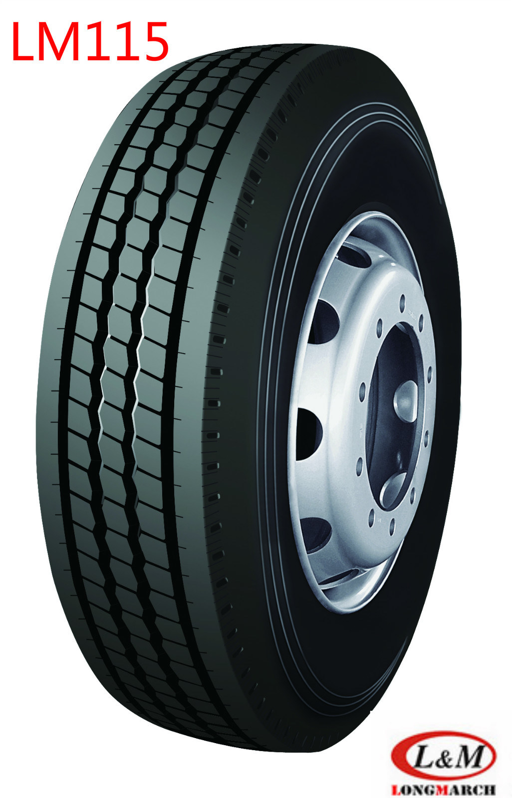 LONGMARCH Drive/Steer/Trailer Tyre for All Positions (115)