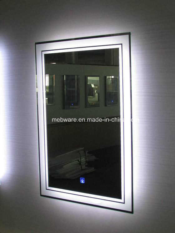 Wall Mounted Bathroom LED Light Make up Mirror