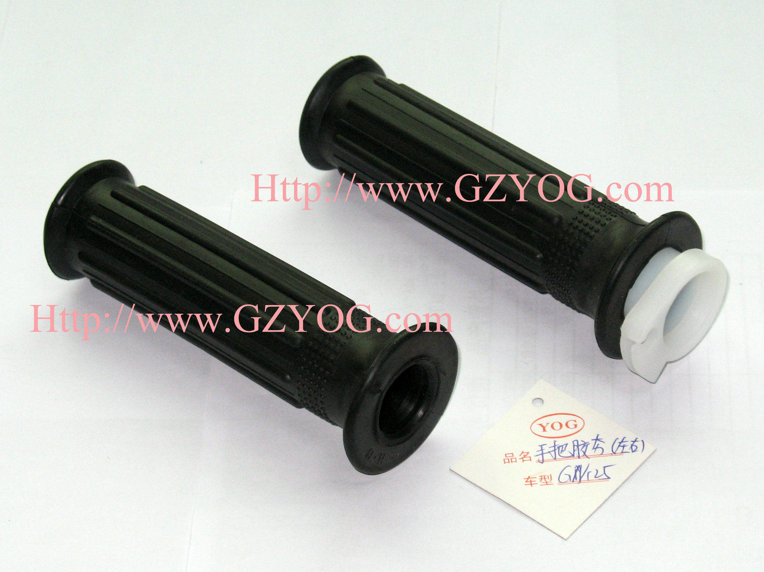 Yog Motorcycle Spare Parts Handle Grips Hand Grip Universal Accessories