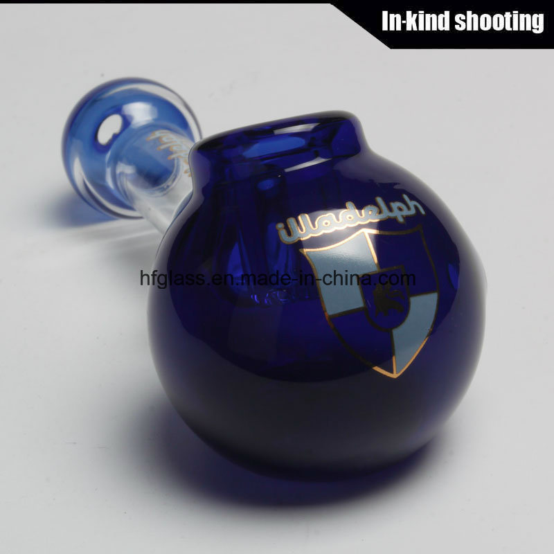 Hfy Glass Hot Sales Illadelph Smoking Hand Pipes Spoon Pocket Pipe Heady Hookah Tobacco in Stock for Wholesales Factory