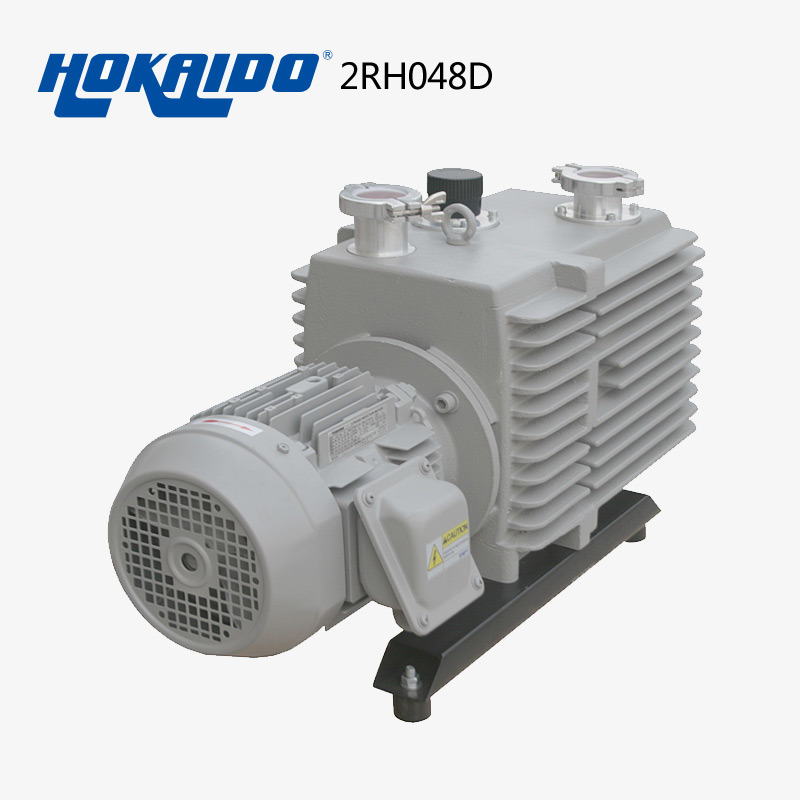 Double Stage Electric Pressure Air Rotary Vane Vacuum Oil Pump (2RH0048D)