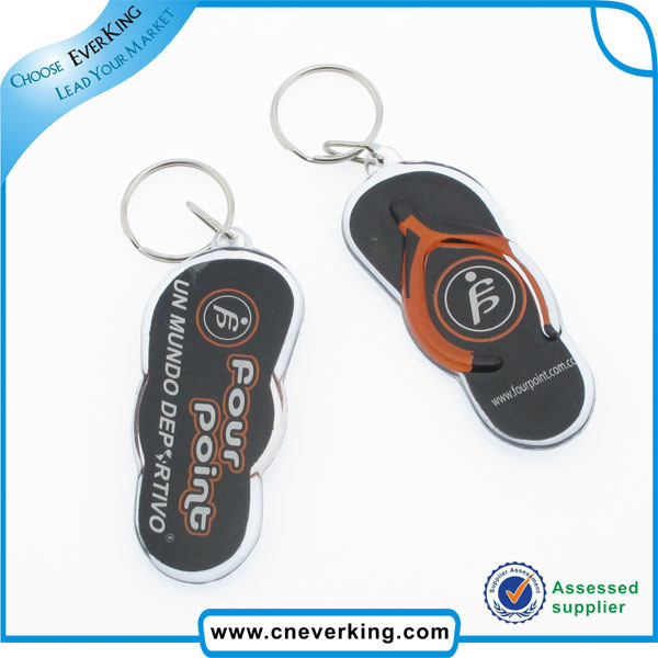 Promotional Gifts Fancy Cheap Custom Logo Print Key Ring