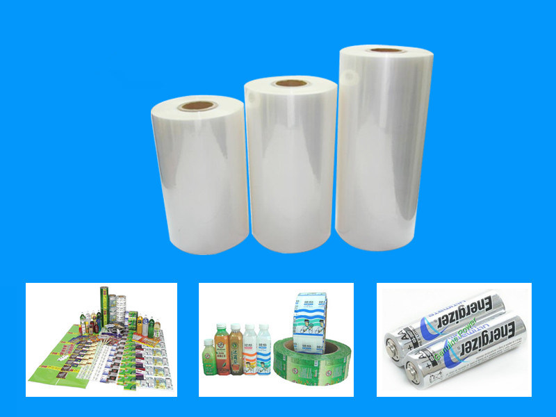 PVC Shrink Film for Water Bottle Label