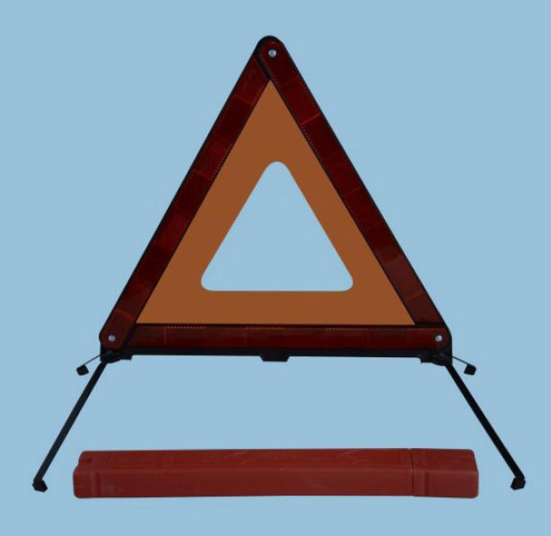 Vehicle Reflective Warning Triangle (HX-D7A)