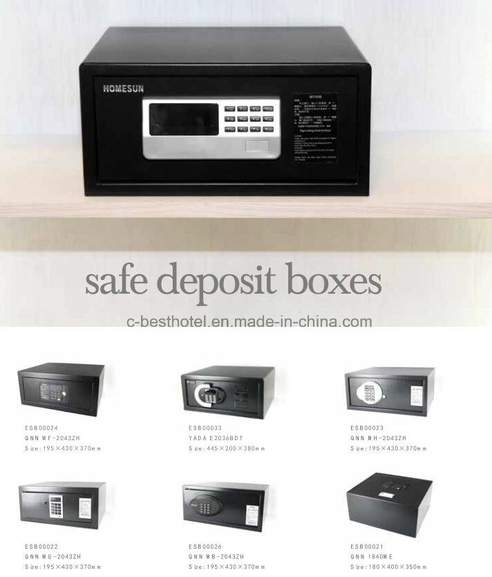 Hotel Guestroom Money Safe Box