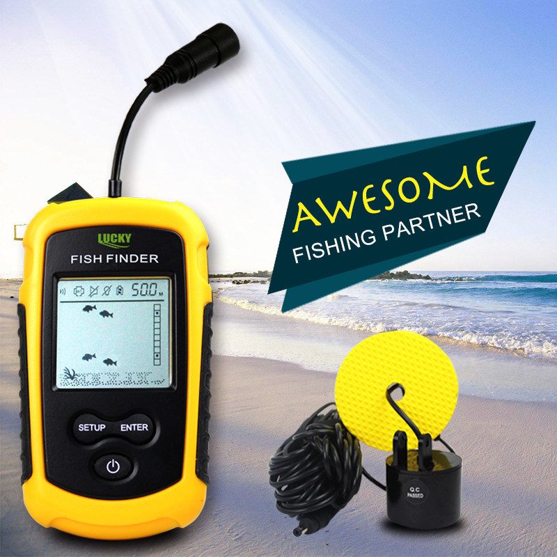 High-Tech Products-Portable Sonar Fish Finder, Fishing Tackle / Equipment (FF1108-1)