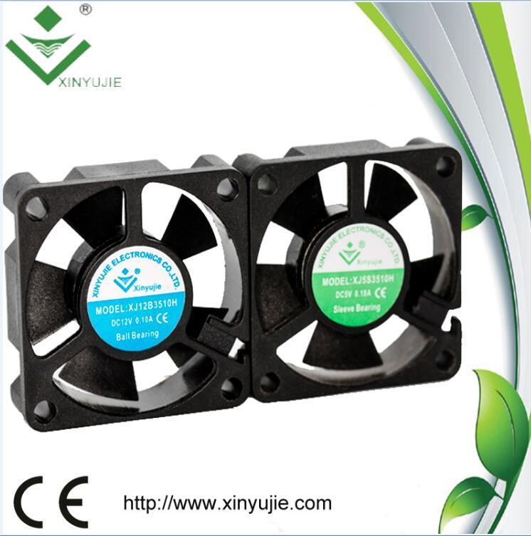 High Speed 35mm 12V 0.10A 3510 DC Cooler Fan