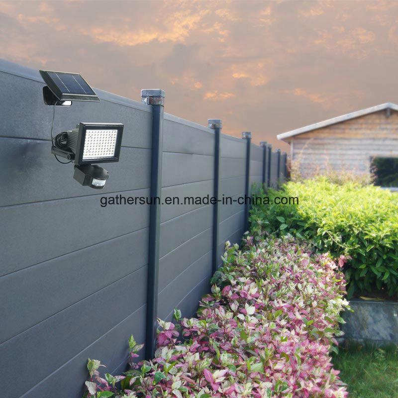 99LED PIR Sensor Spotlight with Armphous Solar Powered for Outdoor