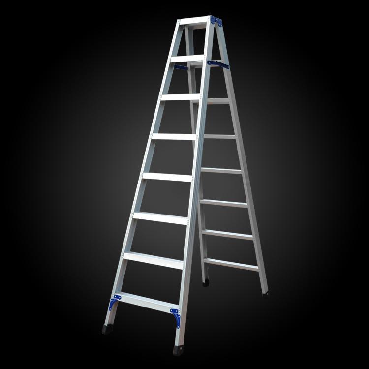 """a""Model Thicken Household Folding Aluminum Ladder"