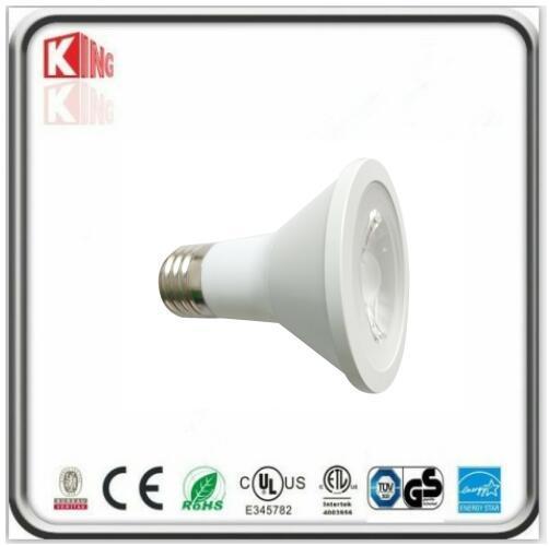 ETL Energy Star 7W Dimmable LED PAR20