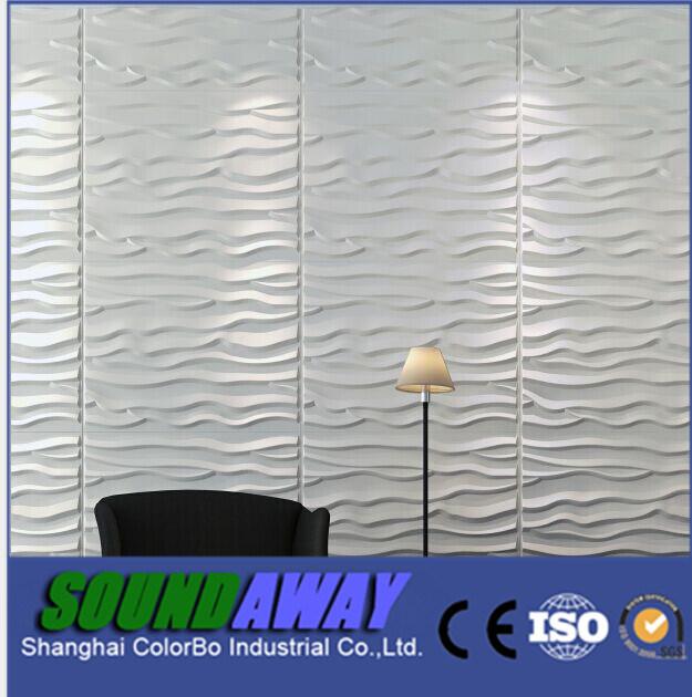 Beautiful Background Wall Wave Decorative Wall Panels