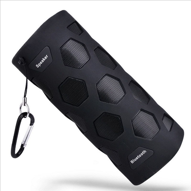 New Best N919 NFC Outdoor Shockproof Waterproof Bluetooth Speaker with 4000mAh Power Bank