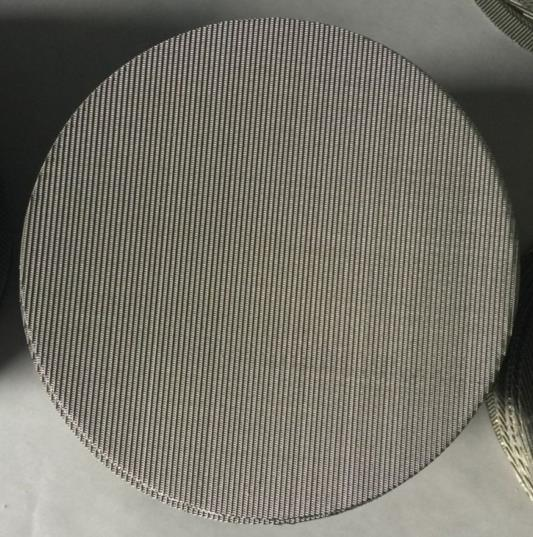 304 316 Stainless Steel Wire Mesh Plastic Extrusion Filter Screen