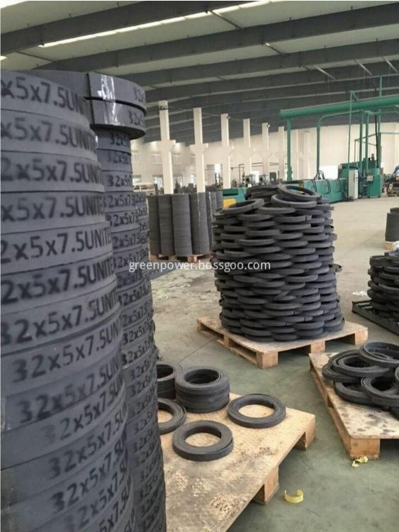 Non Asbestos Pressing Rubber Brake Lining Roll