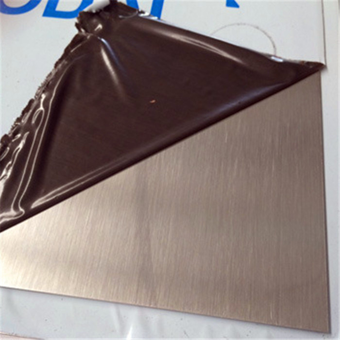 430 304 316 Grade Stainless Steel Sheets Brush No. 4 Finish