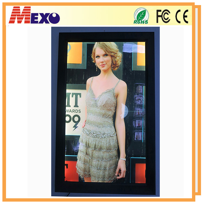 LED Photo Frames Aluminum Extrusion Snap Frame