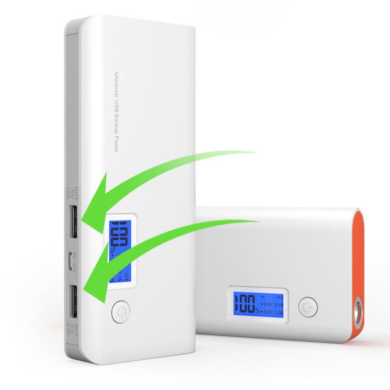 2017 Best Selling 20000mAh LED Light Digital Display Portable Power Bank
