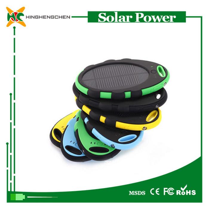 8000mAh Battery Charger Portable Power Bank Solar LED