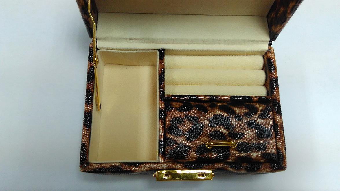 Luxury Leather Jewelry Box