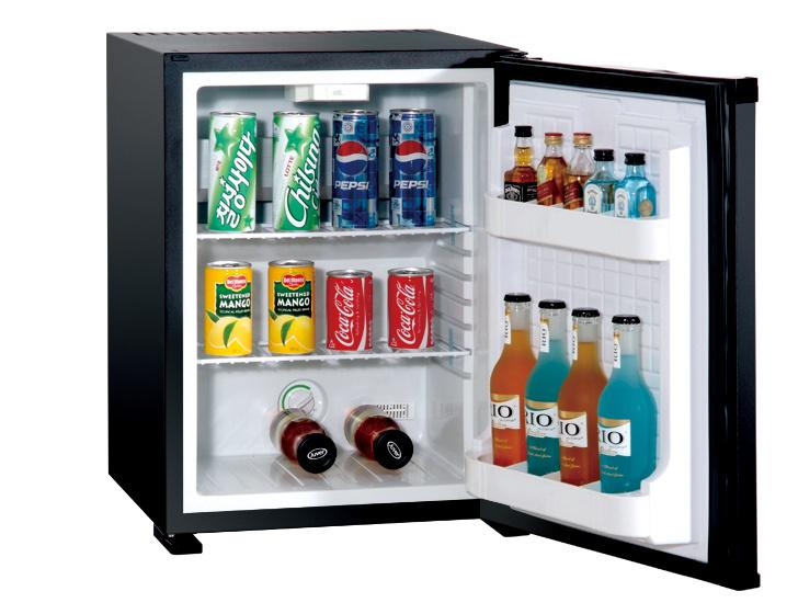 Super Silent Hotel Room Refrigerator 30L Foamed Door Mini Bar Freezer Xc-30