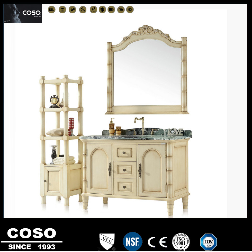 2015 High Quality Latest Design Hot Bathroom Cabinet of Yacht Wood