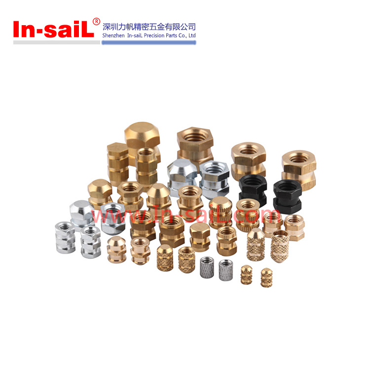 2016 Wholesale Brass Knurled Threaded Insert Nut Manufacturer