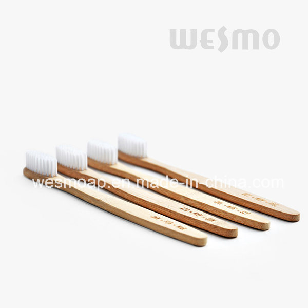 4-PC Set Eco-Friendly 803-Reflecion Carbonized Bamboo Toothbrush
