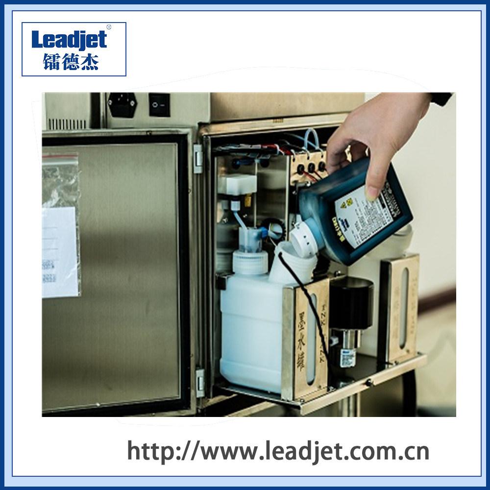 Leadjet V98 Continous Cij Inkjet Expiry Date Printing Machine