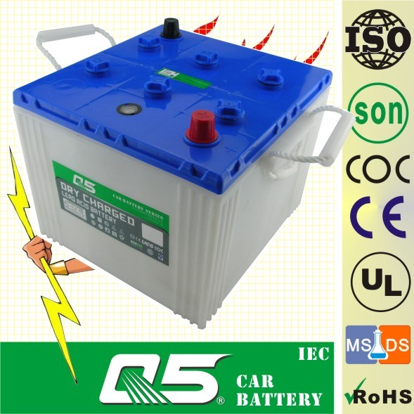 6TN, 12V100AH, 110AH, 120AH, 125AH, BCI series, Lead Acid Dry Charged, Car/Tank/Land Rover Battery, PP Battery container, AGM Battery