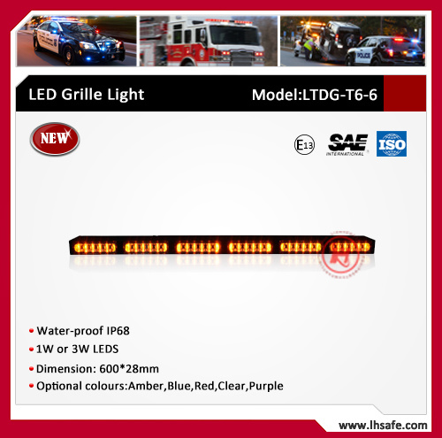 New Pattern LED Warning Light Bar (TBDT6-8)