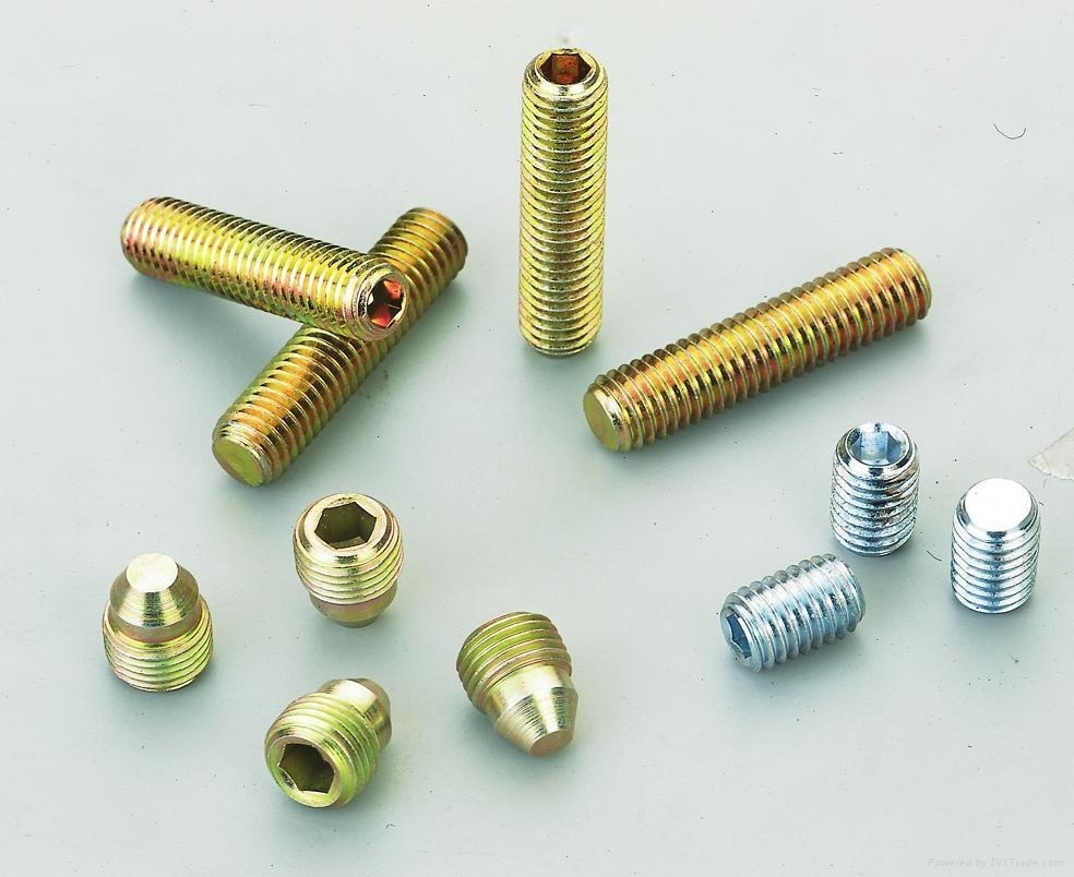 Alloy Steel Hexagon Socket Set Screws DIN913 914 915 916