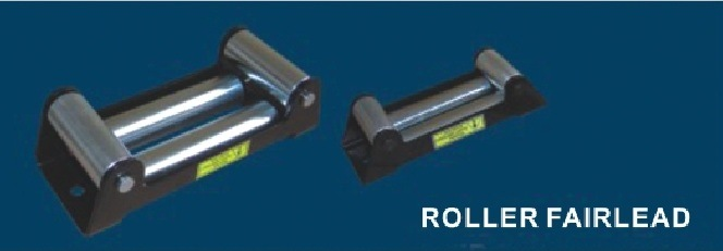 Rust Proofing 4-Way Roller Fairlead for 4X4 Winches